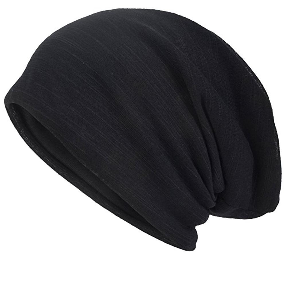 8216aca1f48 Opentip.com  Opromo Womens Mens Slouch Hollow Beanie Thin Summer Cap ...