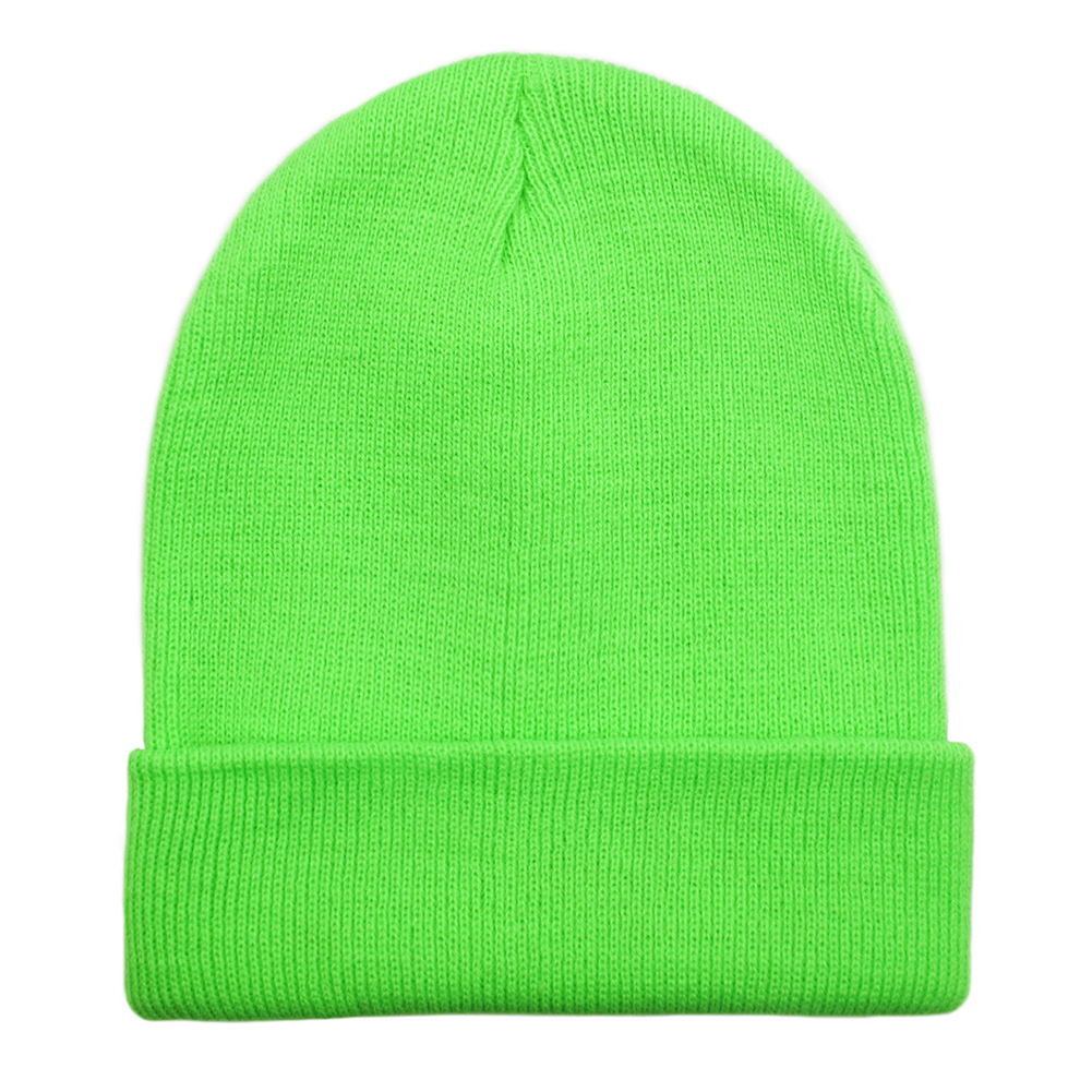 7e5d0174854 Opentip.com  Opromo High Visibility Neon Color Cuffed Long Beanie ...