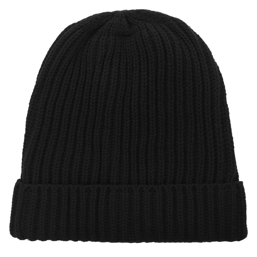 721992b50da0b Opentip.com  Opromo Winter Thick   Warm Chunky Ribbed Knit Hat Stretch Cuff  Beanie Skull Cap