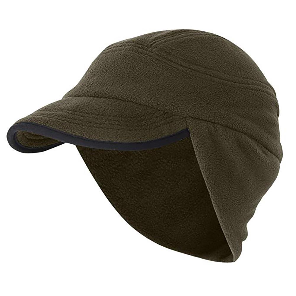 Opentip.com  Opromo Winter Warm Skull Cap Outdoor Windproof Fleece Earflap  Hat With Visor e0bd9e3042b2
