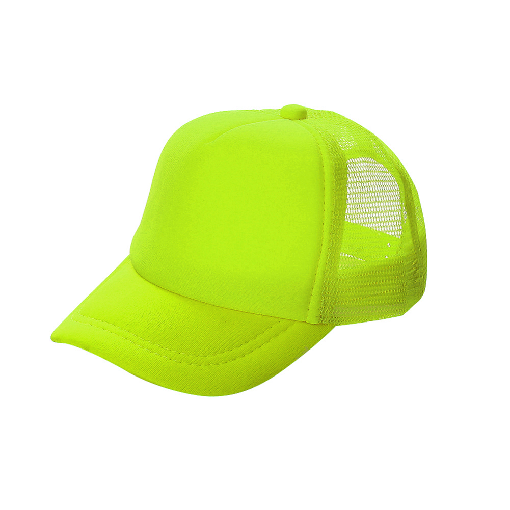 2541a794efa2e Opentip.com  Opromo Summer Mesh Trucker Hat with Adjustable Snapback Strap Neon  Baseball Cap
