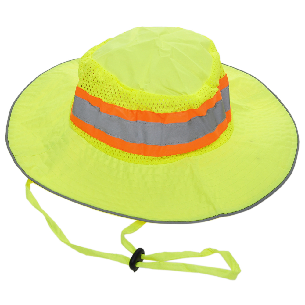 Opentip.com  Opromo High Visibility Ranger Hat With Reflective ... 2e1ca7f8928c