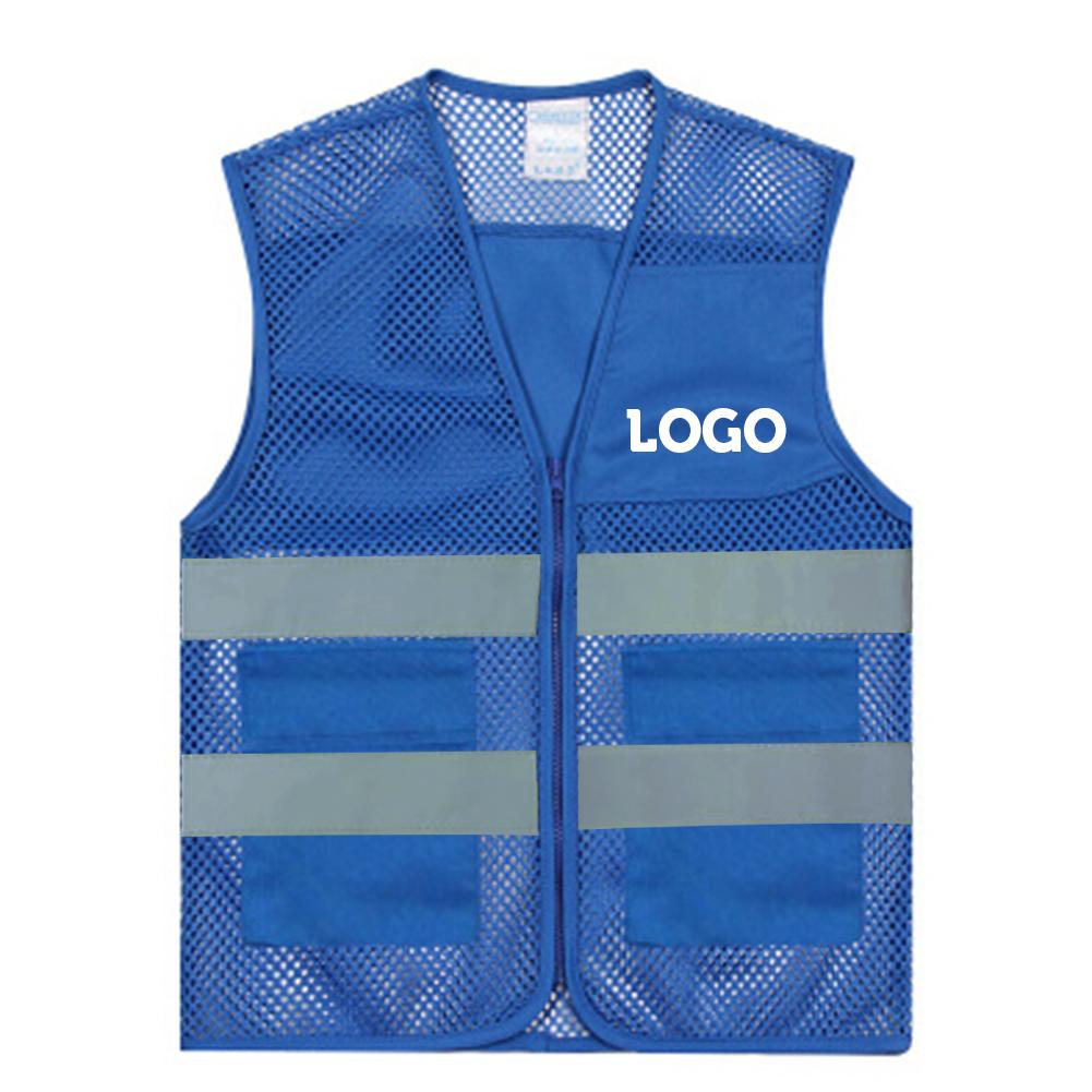 GOGO Custom Unisex 2 Pockets Safety Vest