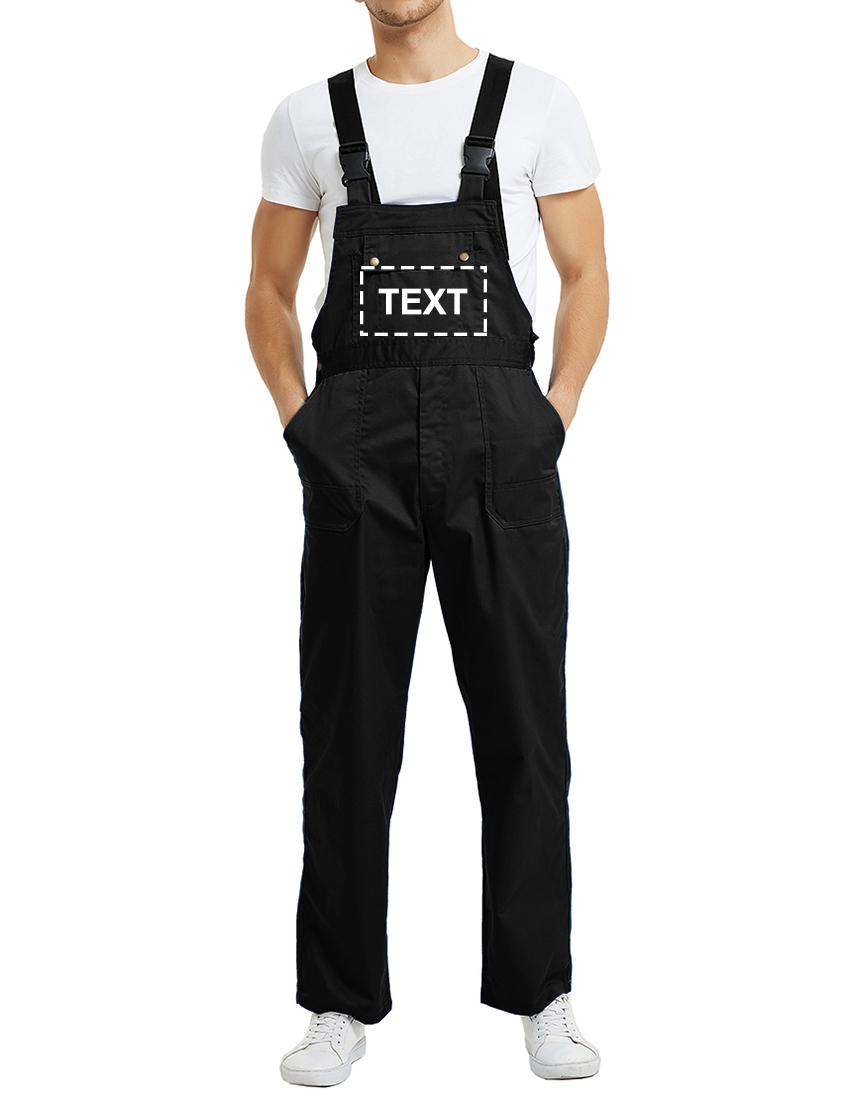 TOPTIE Custom Bib Overall Pants