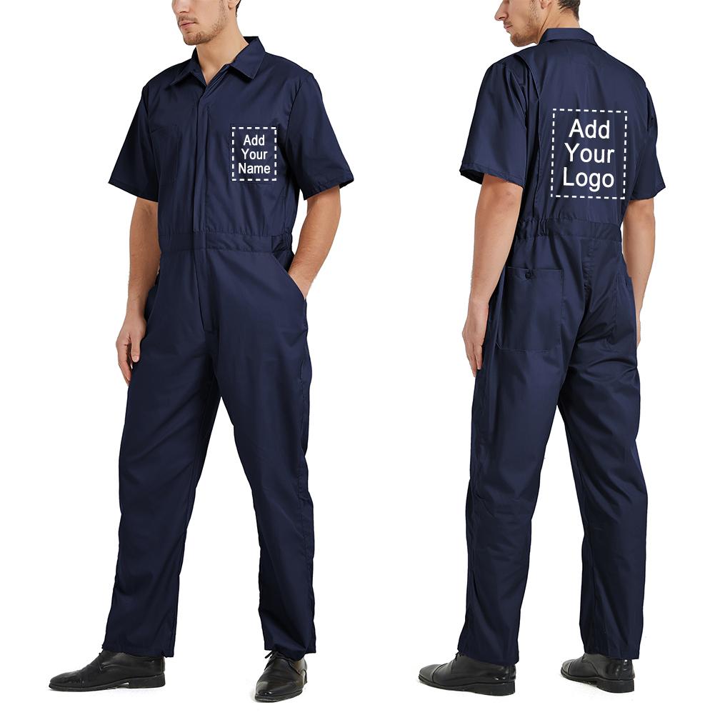 TOPTIE Short Sleeve Coverall for Men