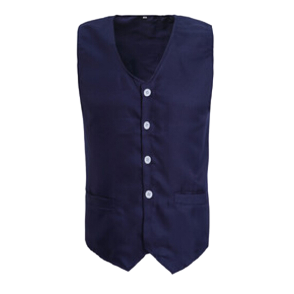 TOPTIE Front Button Vest with Pockets