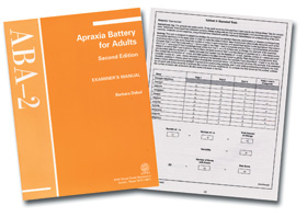 Amazon. Com: aba-2: apraxia battery for adults–second edition.