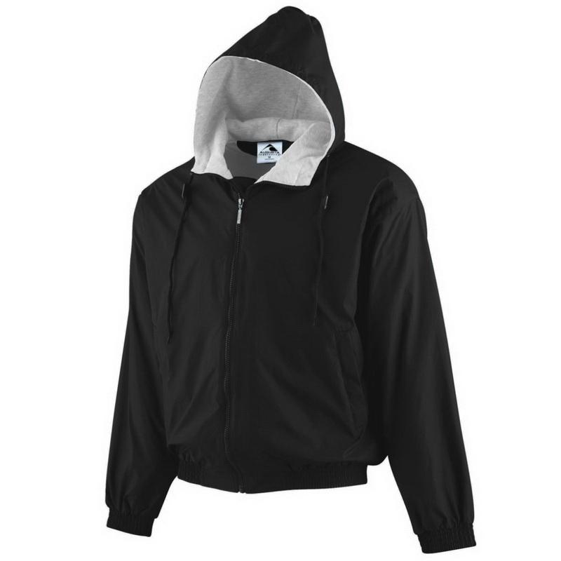 876bfd898e5 Opentip.com  Augusta Sportswear 3280 Hooded Taffeta Jacket Fleece Lined