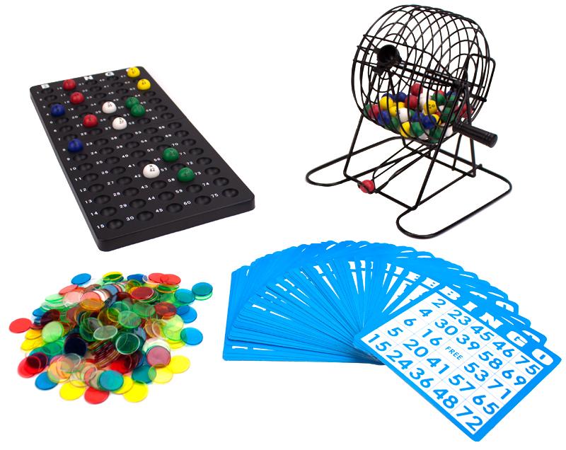 Deluxe Tabletop Bingo Calling Board