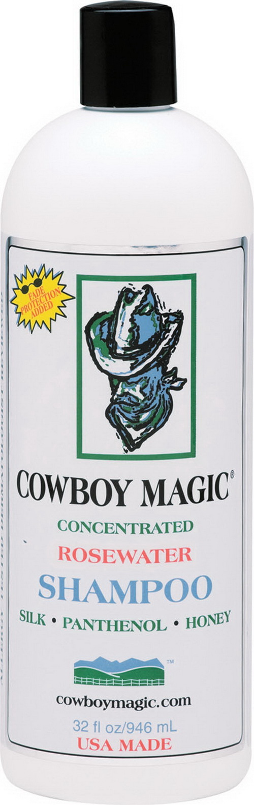 Charmar Land & Cattle Cowboy Magic Rosewater Shampoo - 32 Ounce