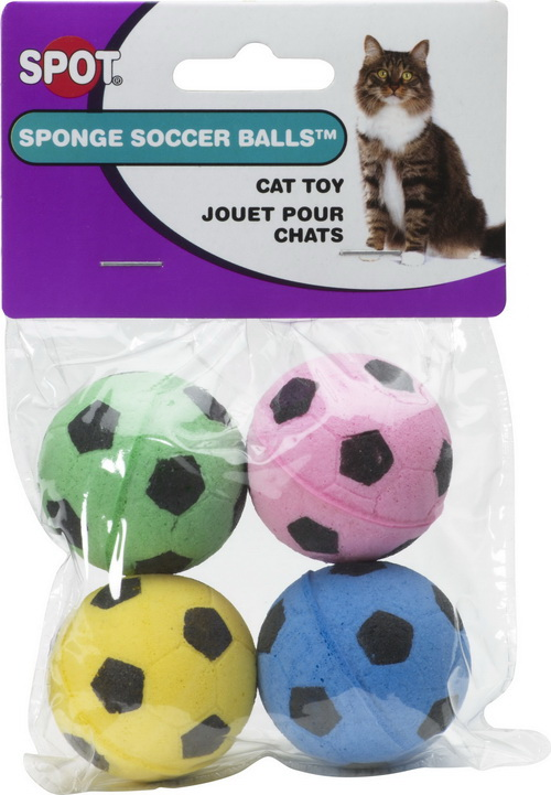 Ethical Sponge Soccer Balls - 4 Pack