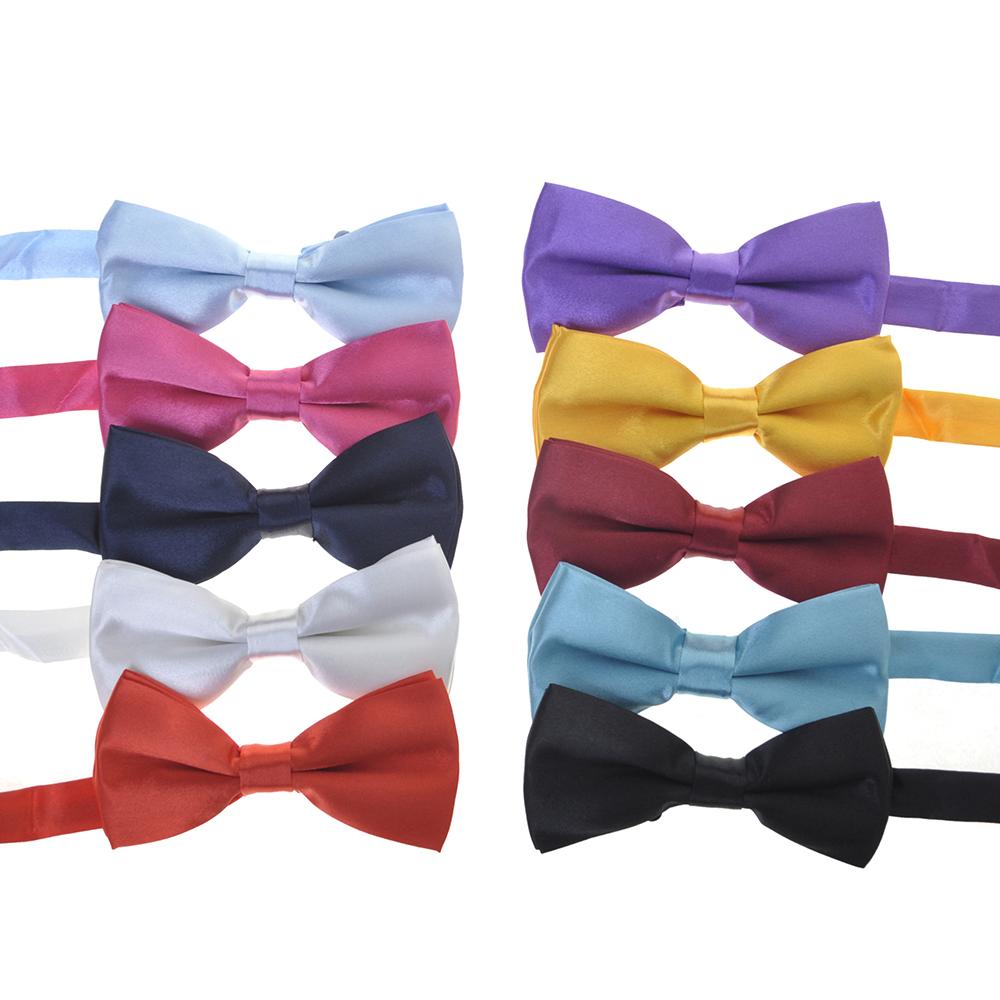 Tuxedo Bowtie,Unicorn Love,Men Classic Pre-Tied Satin Tie