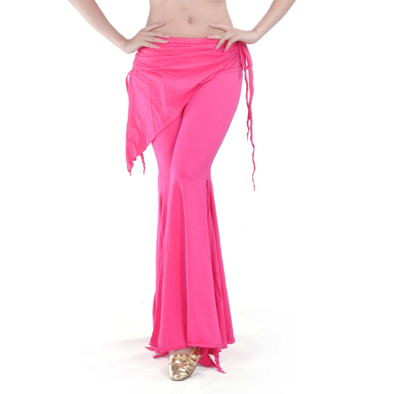 BellyLady Belly Dance Tribal Costume Pants, Yoga Salsa Ballroom Dance Pants