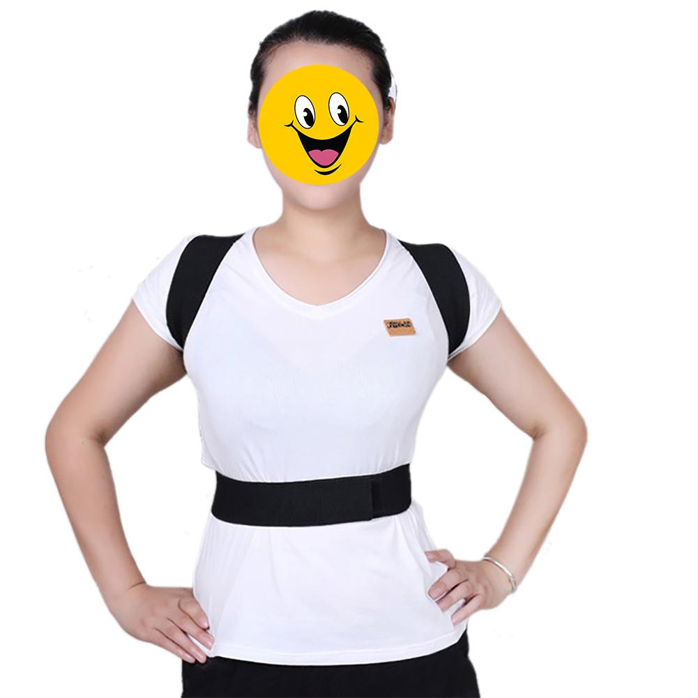 Gogo Posture Corrector Belt Elastic Back Support Brace Shoulder Elastis
