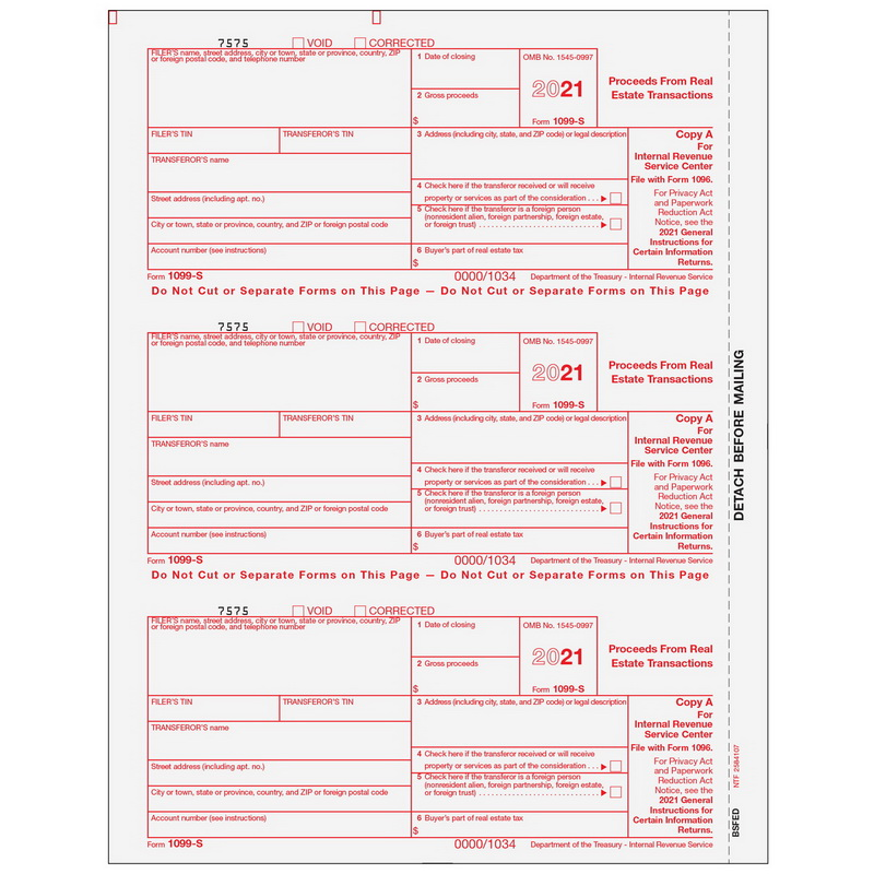 Opentip Super Forms Bsfed05 1099 Products More Preprinted 1099