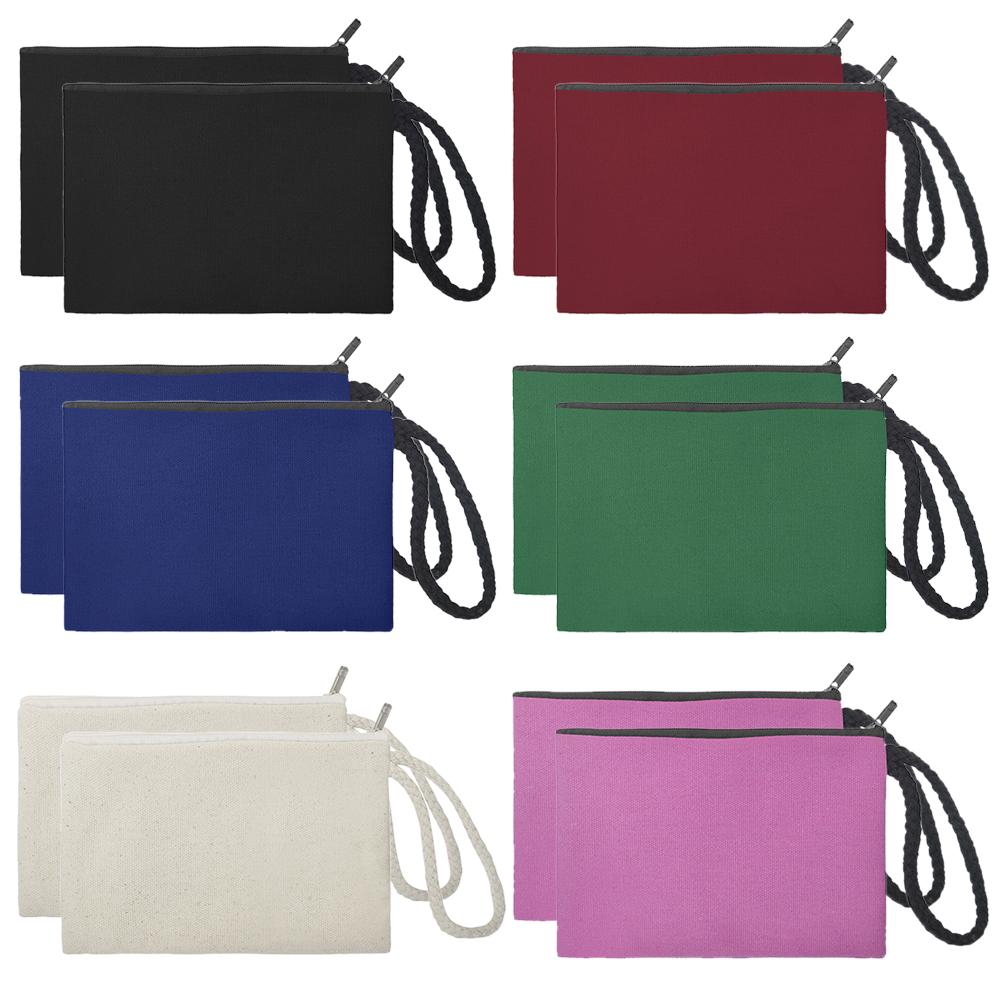"9/"" x 17.5/"" Canvas Coin Bag Brand New 5 ea"