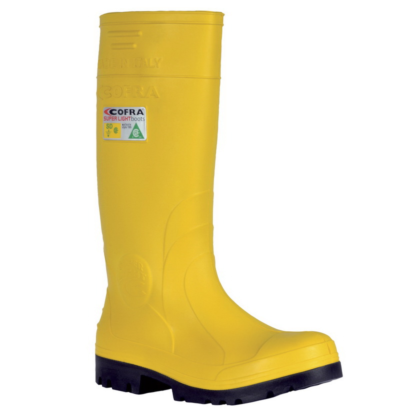 Tan Brown//Black Cofra 20810-CU1.W12 Degas EH PR Safety Boots 12