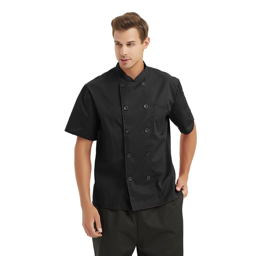 Opentip Short Sleeve Chef Coat
