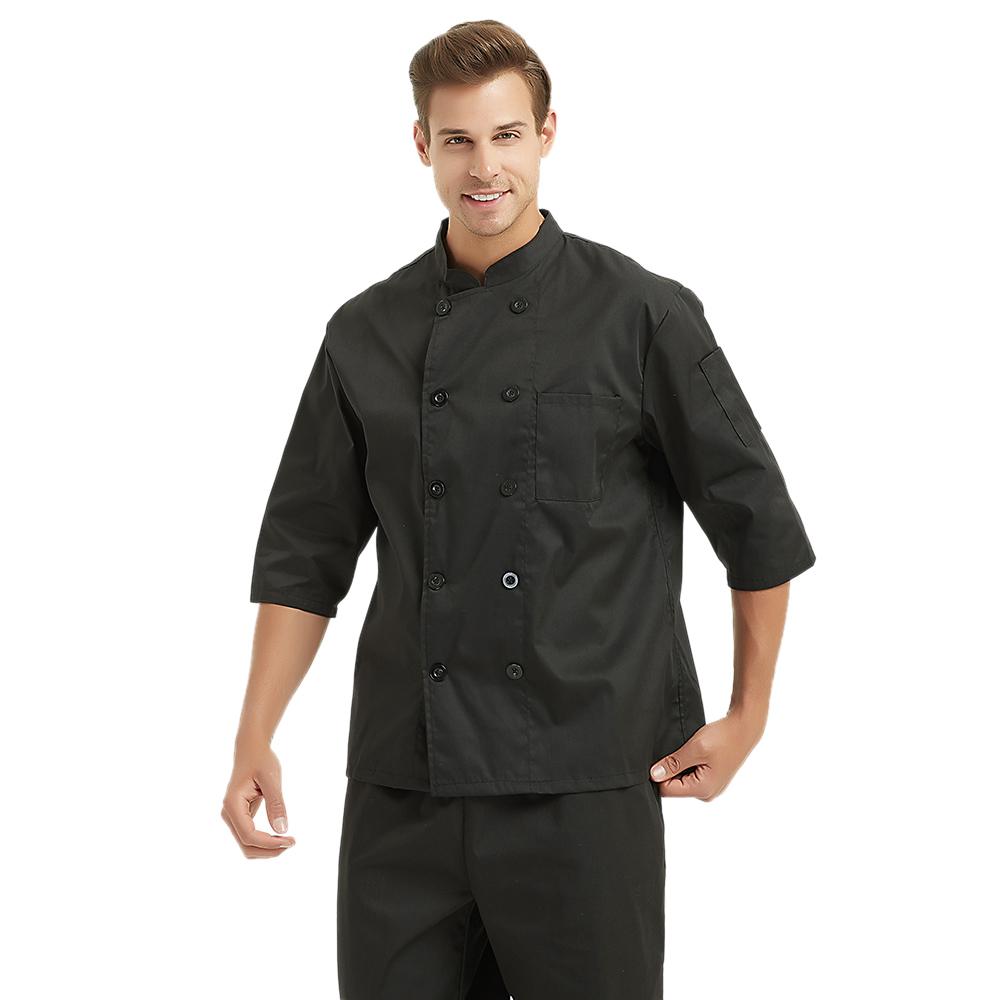 Opentip 3/4 Long Sleeve Chef Coat