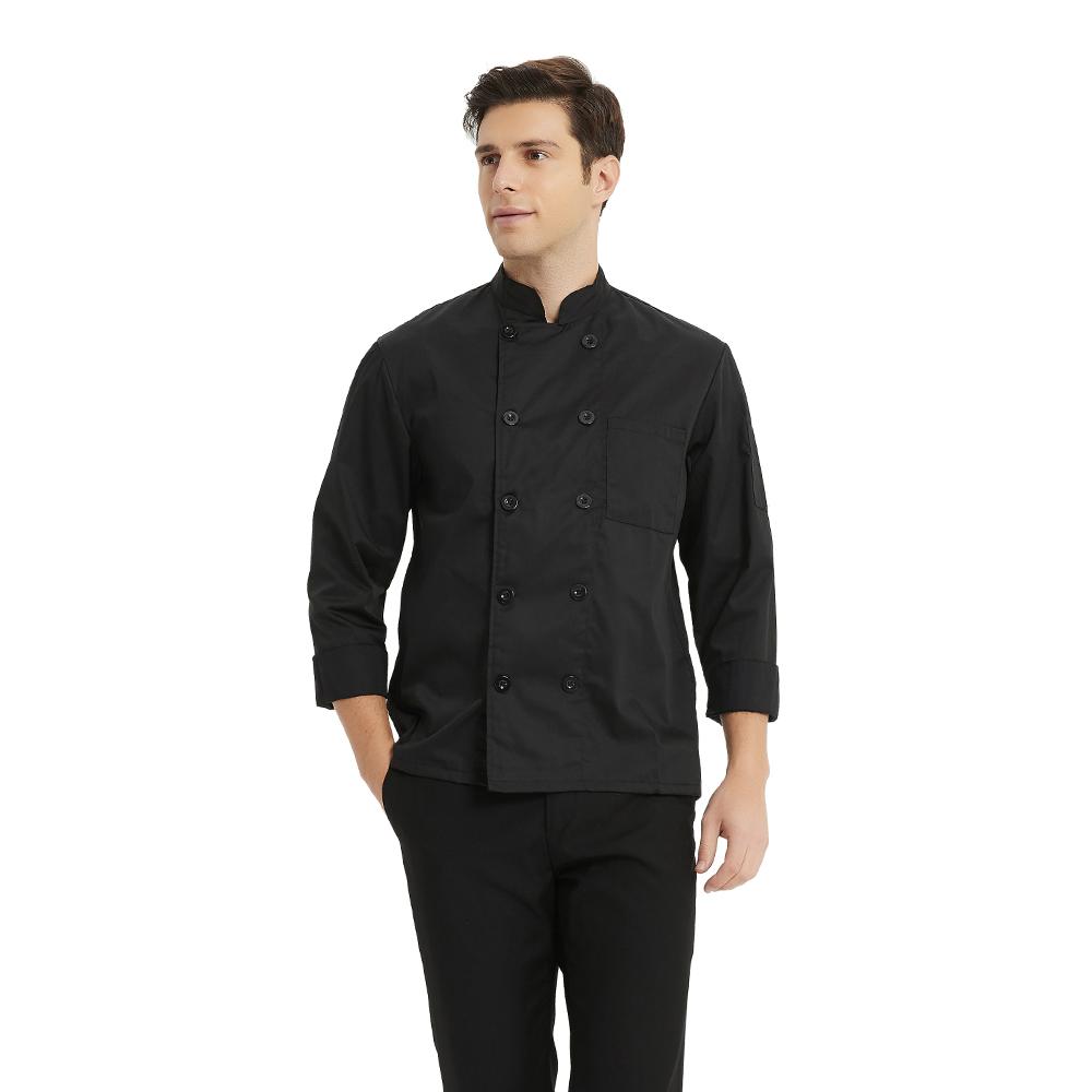 TopTie Unisex 10 Knot Button Chef Coat