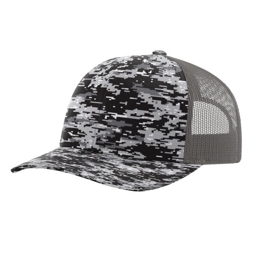 3f2bb1206be Opentip.com  Richardson 112P Printed Trucker Snapback Cap