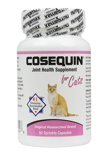 酷牌库 商品详情-Nutramax Labs CQCAT80 * Cosequin猫用散剂,80粒