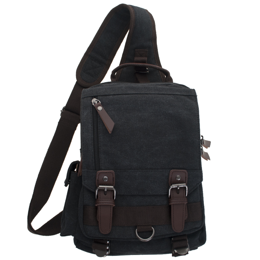 88d1c4c58a21 Opentip.com  Large Sling Backpack Crossbody Book Bag Chest Shoulder  Rucksack for Men Women