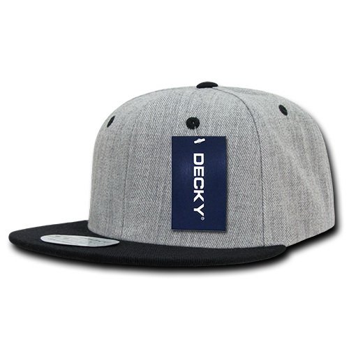 5ebab783e1c2d Opentip.com  Decky 1092 Heather Grey Snapbacks