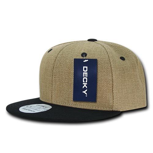 Opentip.com  Decky 1099 Heavy Duty Jute Snapback ff68d26e5cff