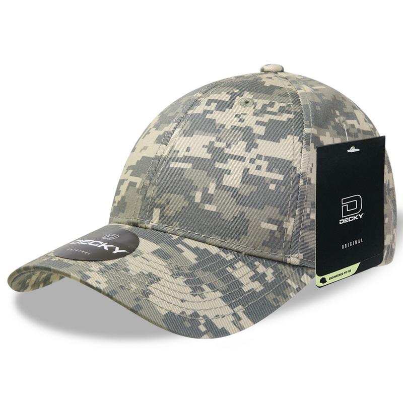 Opentip.com  Decky 217 Low Crown Camo Baseball Caps b56c3f4fbdbd