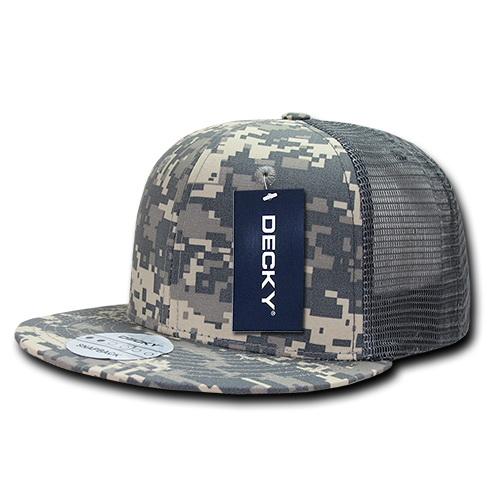 Opentip.com  Decky 241 Ripstop Flat Bill Trucker Cap 0faad82dcc46