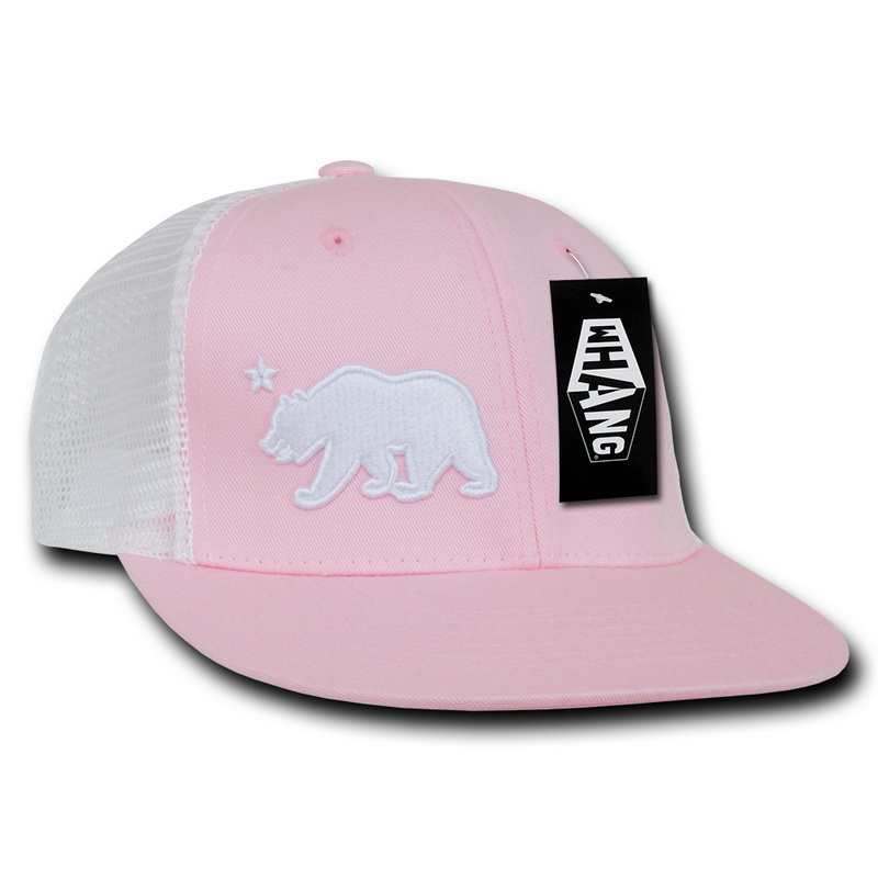 66446495 Opentip.com: WHANG W24 Cali Bear Junior Trucker Caps