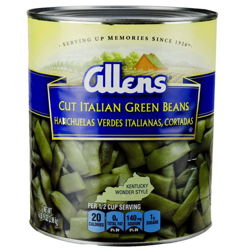 Allen 2002558 Green Bean Italian Cut