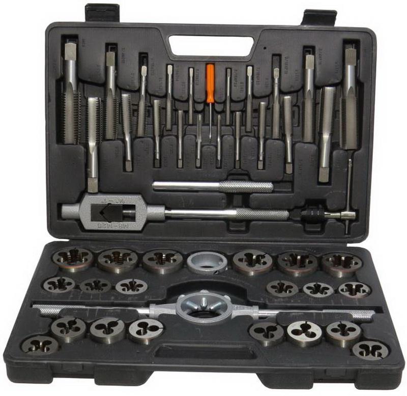 "1-1//8/""-12 Carbon Steel Hand Tap Set DWTS1-1//8-12"