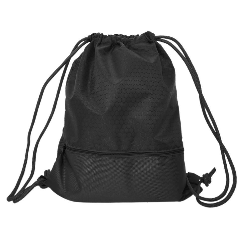 Unisex Mermaid Drawstring Backpack Cinch Polyester Bulk Waterproof String Bags For Sports Gym Yoga Swimming Traveling