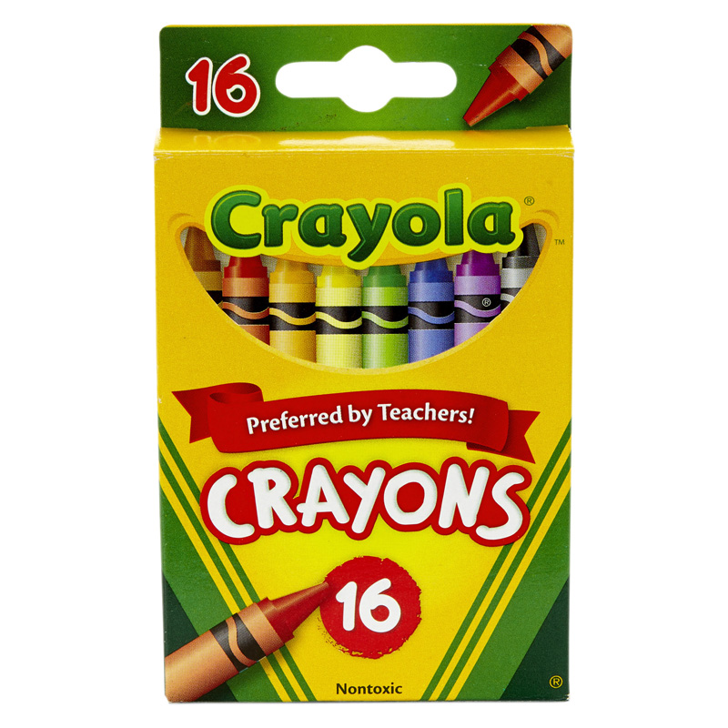 Crayola BIN16 Regular Size Crayons 16Pk