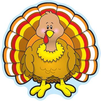 Carson Dellosa CD-120035 Turkey Cut-Outs Mini Single All