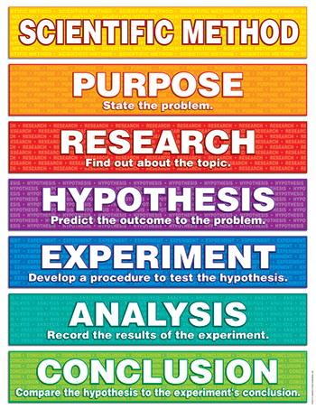 Teachers Friend TF-2217 Scientific Method Friendly Chart Notes