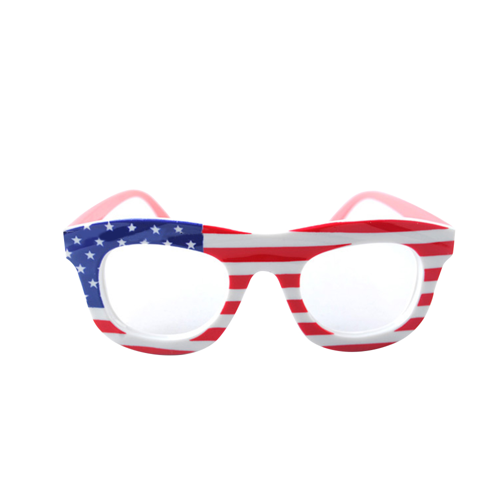 f8b086cf194e Opentip.com  TopTie Wholesale Kids Eye Glasses Frames Flag Print Eyewear  for Party Patriotism