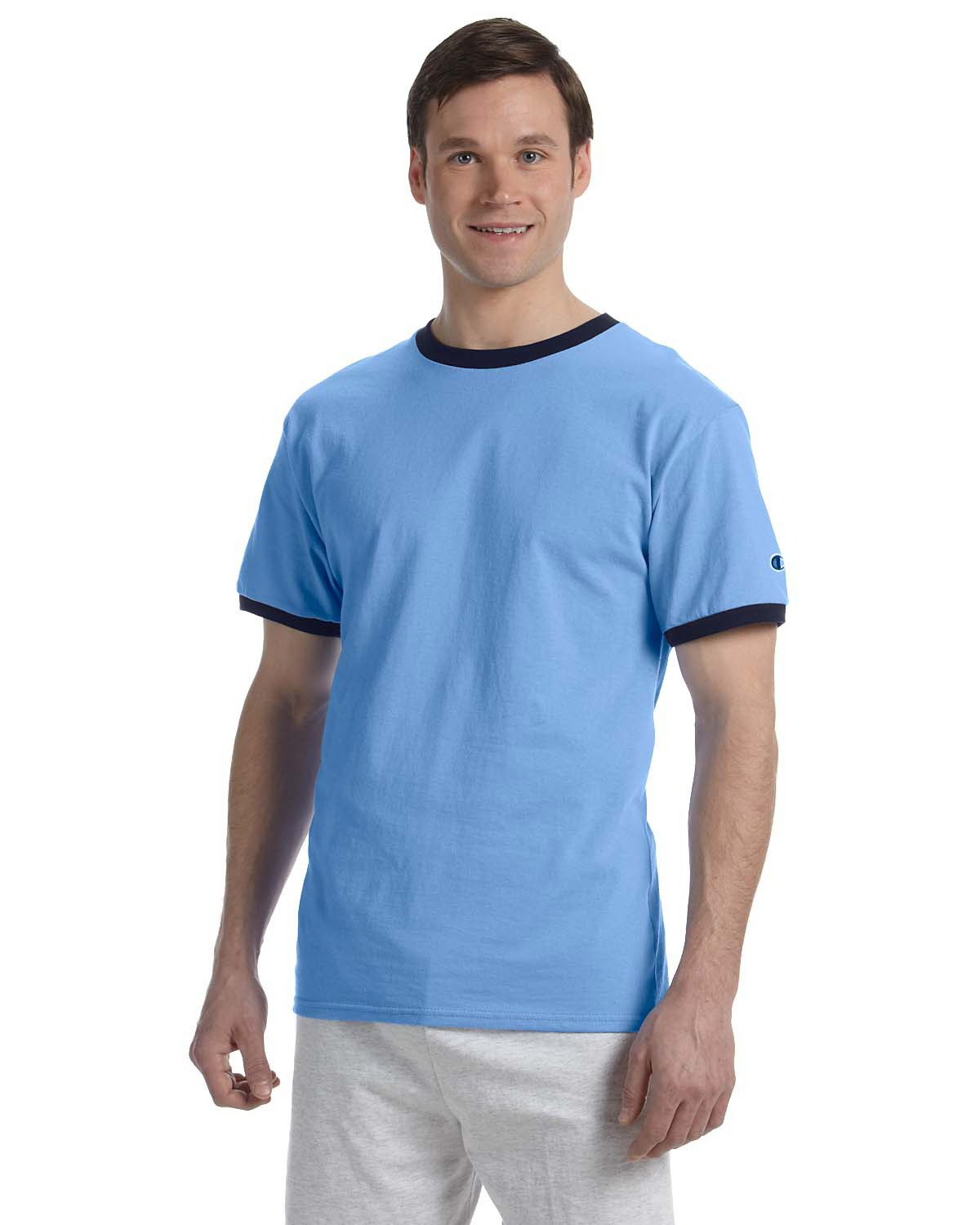 0a604a25 Opentip.com: Champion T1396 6.1 oz. Tagless Ringer T-Shirt, Price/each