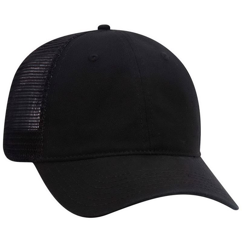 c37337c7c90 Opentip.com  Blank 121-858 Superior Garment Washed Cotton Twill Low Profile Pro  Style Mesh Back Cap