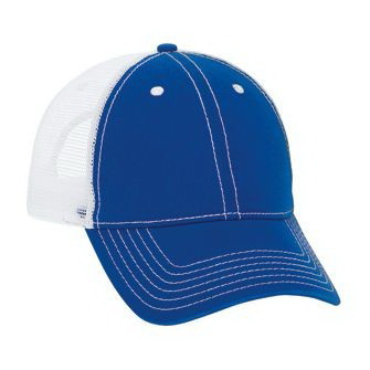 fad354fff Blank 121 859 Superior Garment Washed Cotton Twill Low Profile Pro Style  Mesh Back Cap with 6 Embroidered Eyelets