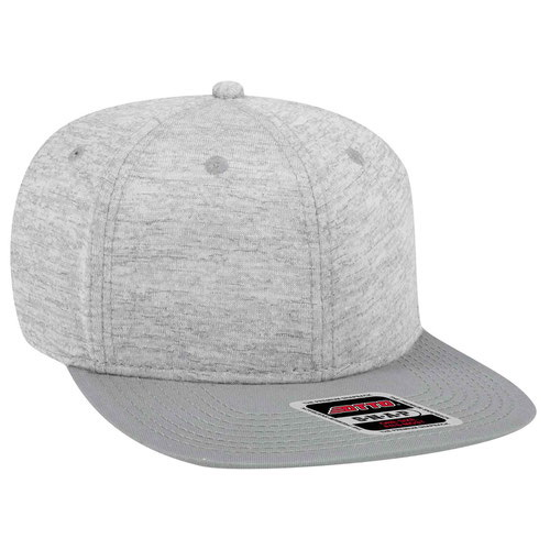 f4494270 Opentip.com: Otto Snap 6 Panel Pro Style Jersey Knit w/Cotton Twill Square  Flat Visor, Price/each