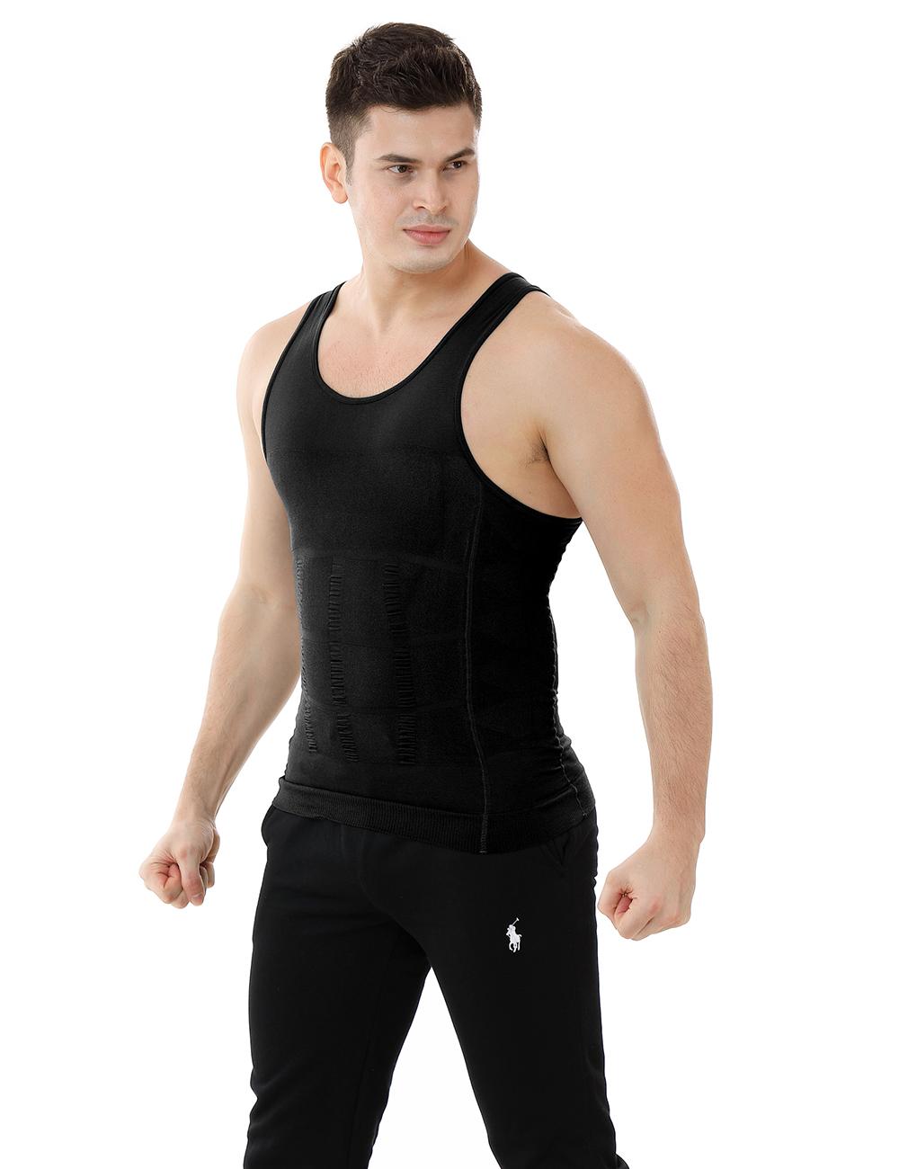 4a084037a72e5 Opentip.com  Men Slimming Body Shaper Compression Shirt Slim Fit Shapewear  Mens Shirts Undershirts Bulk Sale