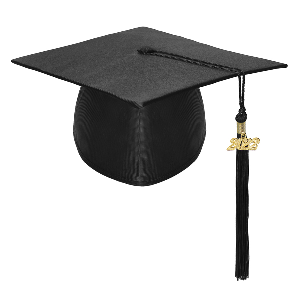 3e600e0982 Opentip.com  Toptie Unisex Adult Black Graduation Cap With Tassel 2019