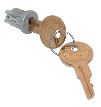 CompX Timberline 102TA Polished Nickel Key Plugs