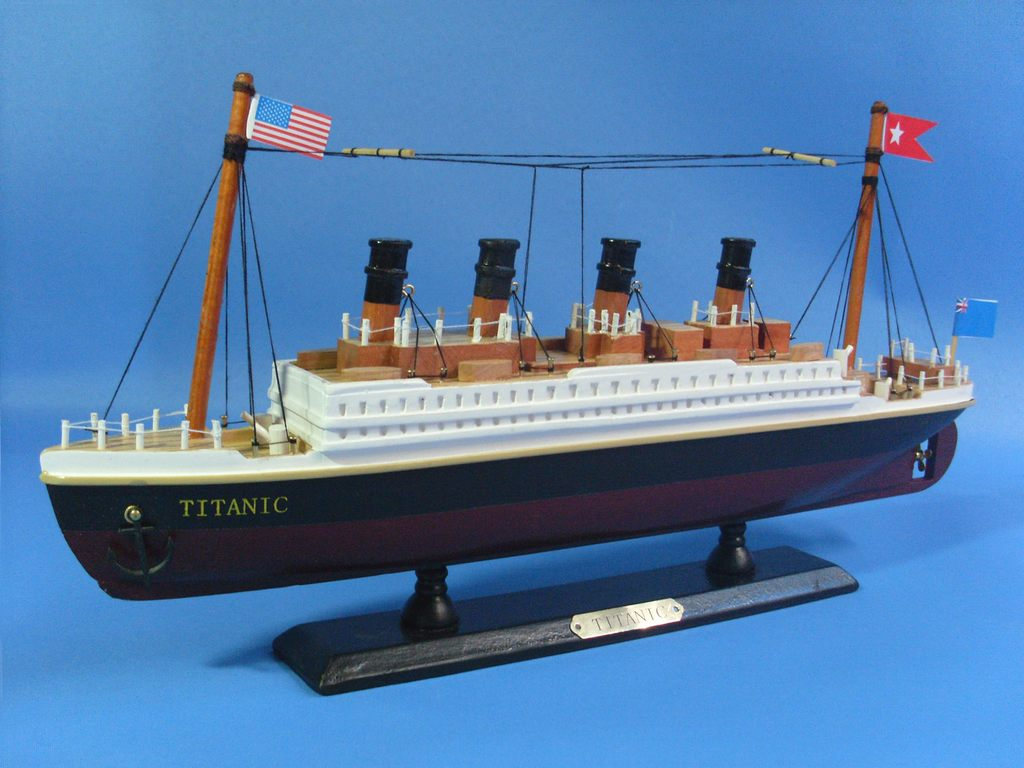 Handcrafted Model Ships A1705 Rms Titanic 14 Tall Ship Diagram Nautical History Pirates Pinterest