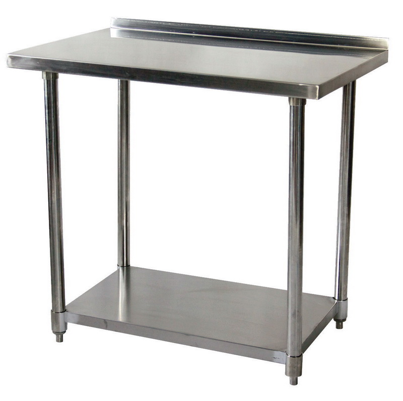 Opentipcom JohnsonRose Work Table With Up Turn - Stainless steel work table price