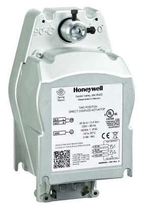 15 lb SPST 24 Vac Honeywell M836B1033 Damper Motor Two Position Torque