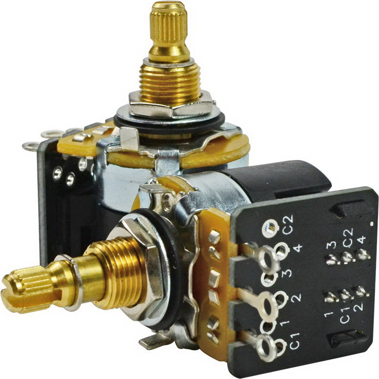 Cts 500K Dpdt Push Pull Potentiometer